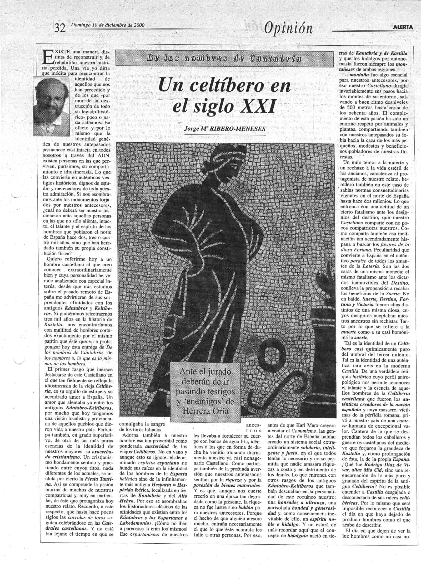 Un Celtibero En El Siglo Xxi Iberia Cuna De La Humanidad Racional